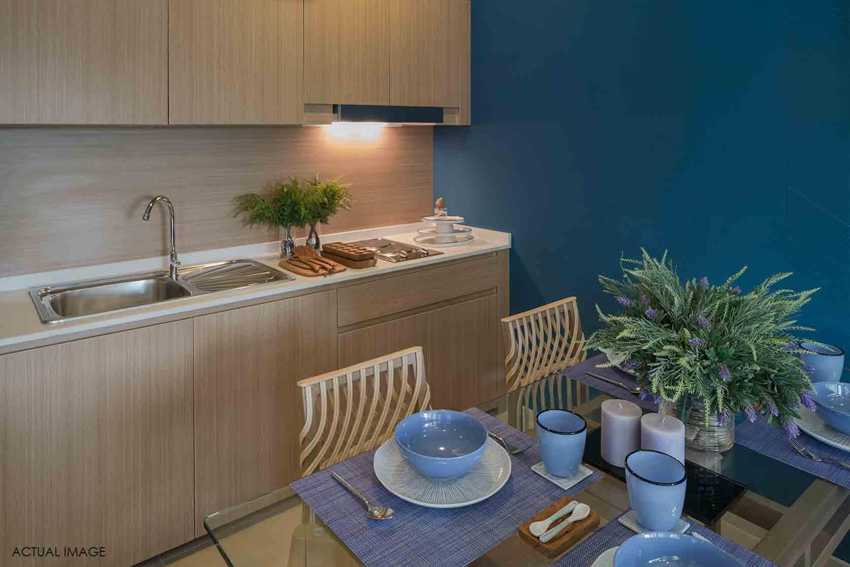 Condo Thewtalay BlueSapphire ChaAm-HuaHin-Interior Living