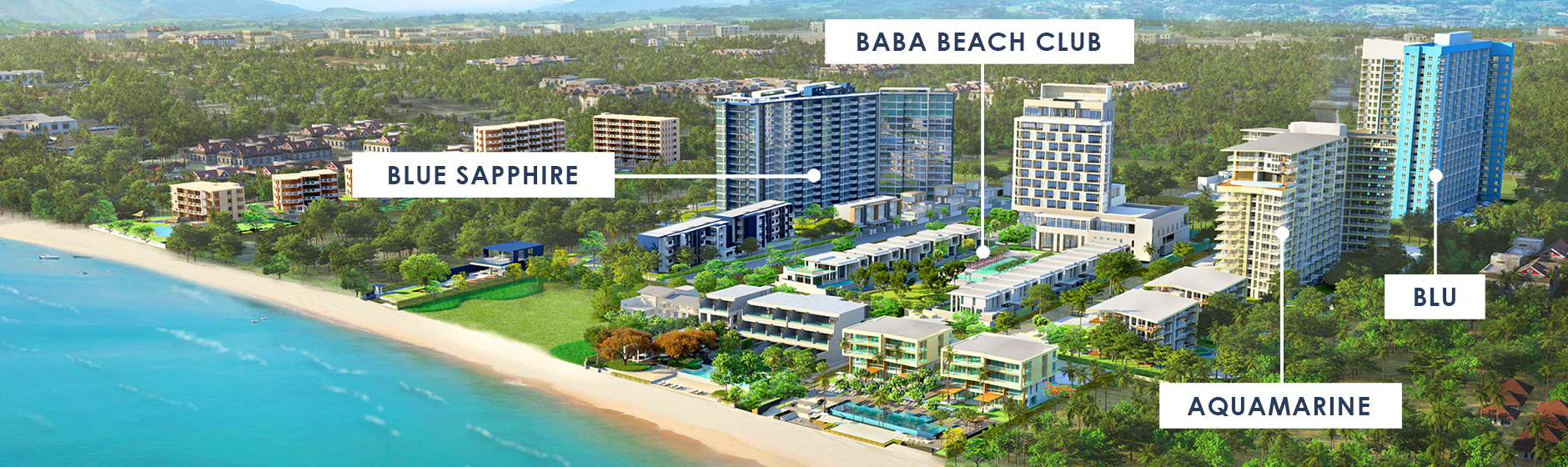 Condo Thewtalay BlueSapphire ChaAm-HuaHin